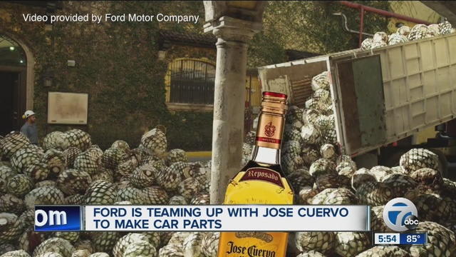 Ford, Jose Cuervo to Make Auto Parts Out of Agave