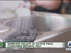 Samsung phone model not actually water resistant