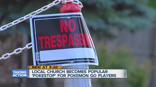 Church want Pokemon Go players off the property