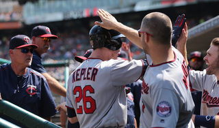 Two late homers off K-Rod help Twins over Tigers