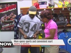 Local NBA mom opens sports store in Detroit