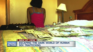 Helping the victims of human trafficking