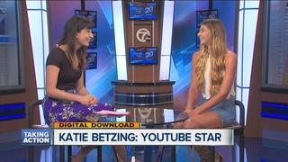 Teen Katie Betzing chats about YouTube stardom