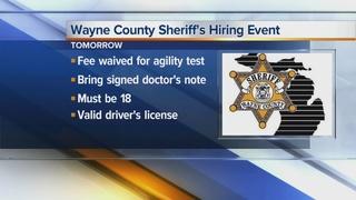 100 jobs open in Wayne County jails