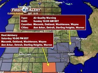 FORECAST: Heat advisory until 10PM tonight