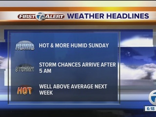 FORECAST: Heat advisory until 10 PM tonight