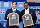 Ken Griffey Jr. & Mike Piazza inducted into HOF