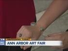 Ann Arbor Art Fair draws hundreds of thousands