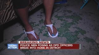 3 men break into home, hold gun to child's head
