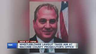 Whistleblower suit against Macomb Prosecutor