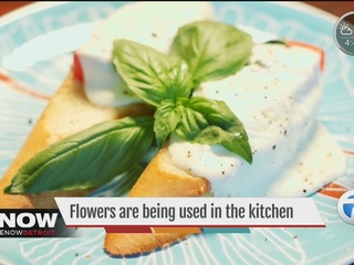 Flowers making their way into your meal