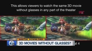 3D movie viewing sans the glasses?