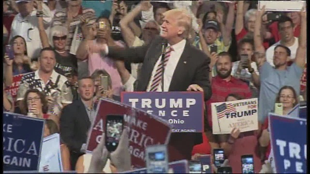 WATCH LIVE: Trump speaks in Toledo, Ohio