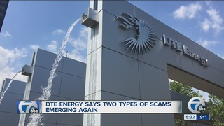 DTE warning customers about imposters and scams