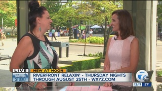 Celebrate summer with Riverfront Relaxin' series