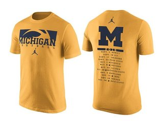 SEE IT: U-M football's student section shirt