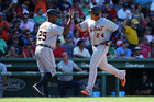 Cabrera's blast leads Tigers sweep of Red Sox