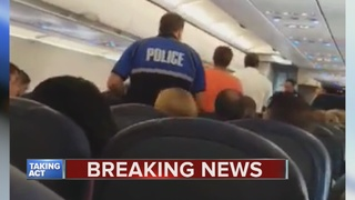 Police arrest man on plane at Metro Airport