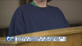 Teen may claim self-defense in stabbing