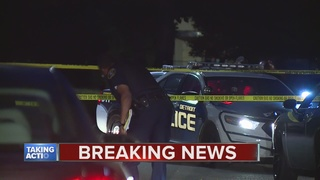 Police search for suspect in veteran's murder