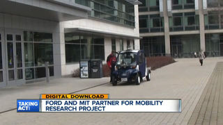 Ford's electric shuttles to measure foot traffic