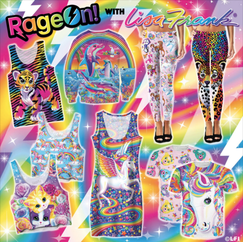 lisa frank launches new clothing line adult coloring book - Lisa Frank Coloring Books