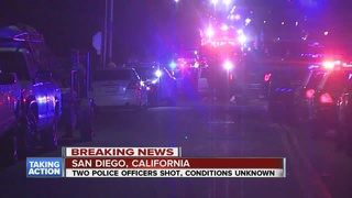 Police: 1 officer killed in San Diego shooting
