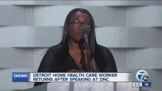 Local woman speaks on national stage at DNC