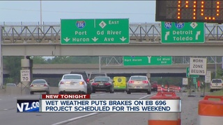 WEEKEND TRAFFIC: EB I-696 closure canceled