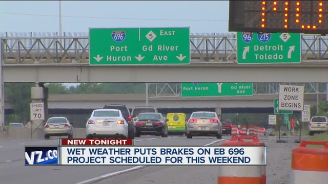 WEEKEND TRAFFIC: EB I-696 closure canceled