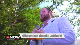 Opera comes to Detroit's Grand Circus Park