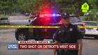Two men shot on Detroit's west side