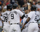 Colluns, Upton hit 3-run HRs; Tigers rout Astros