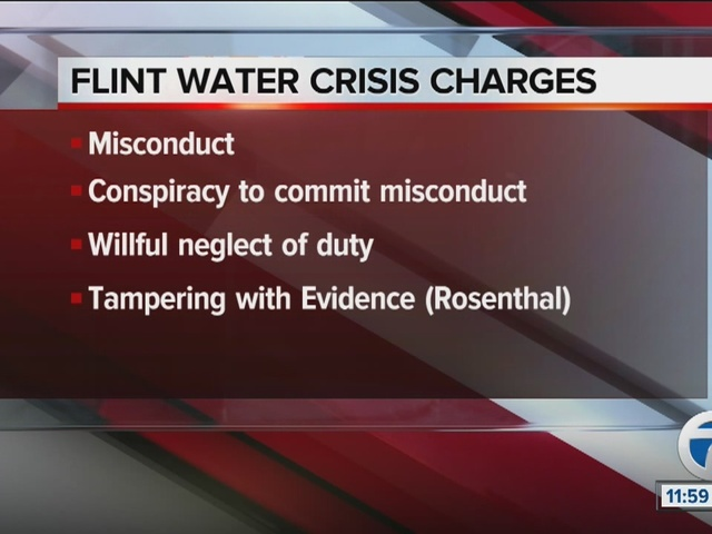 Schuette charges 6 in Flint Water Crisis