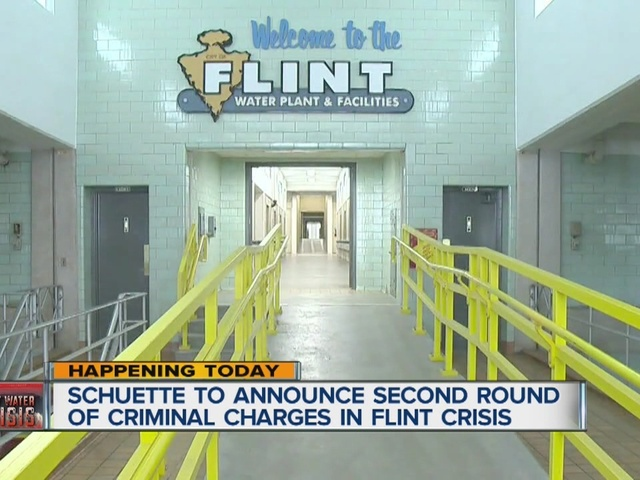 Schuette to announce second round of criminal charges in Flint crisis