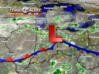 FORECAST: Cooler temps also expected