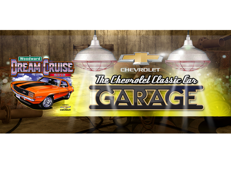 Woodward Dream Cruise Chevrolet Classic Car Garage