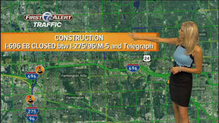 WEEKEND TRAFFIC: I-696 eastbound to close