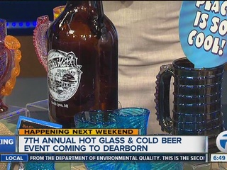 """""""Hot Glass.Cold Beer"""" event at the Glass Academy"""
