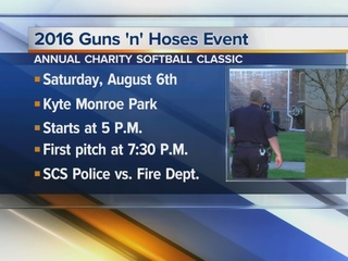 SCS Police, Fire to face off in charity game