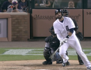 SEE IT: J.D. Martinez returns in style