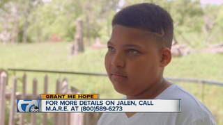 Grant Me Hope: Jalen likes playing sports