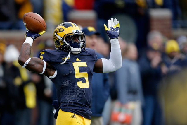 Michigan's Jabrill Peppers denies Forbes report on 2017 NFL Draft decision