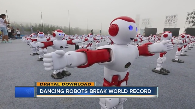 1007 robots set world record for most robots dancing simultaneously
