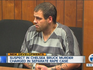 Man charged in Bruck murder facing rape charges