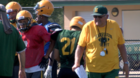 Coach Herrington not giving up on Hawks football