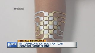 DuoSkin temporary tattoo can control smartphones