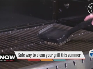 Safe way to clean your grill this summer