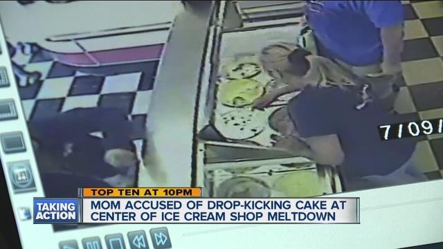 Kroger Cake Kicking Suspect Also Accused In Ice Cream