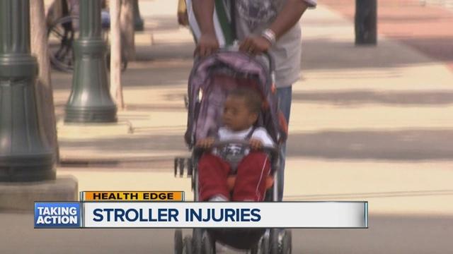 Stroller injuries put kids in the ER